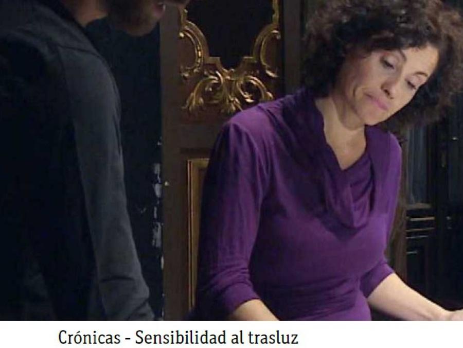 """Imagen del documental """"Sensibilidad al trasluz"""""""